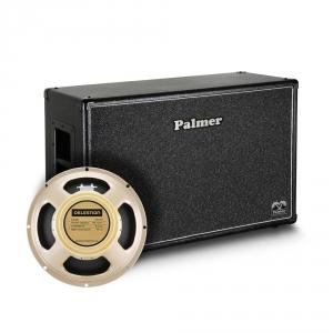 Palmer MI CAB 212 CRM OB kolumna gitarowa 2 x 12 z głośnikami Celestion Creamback, 8/16Ohm, otwarta z tyłu