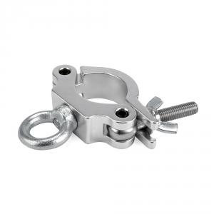 RIGGATEC 400200085 obejma z uchem Small Silver do 170kg (48 - 51 mm)