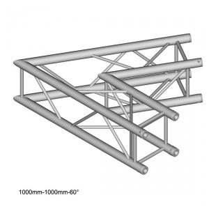 DuraTruss DT 34/2-C20-L60 element konstrukcji aluminiowej, narożnik 60st