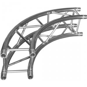 DuraTruss DT 34/2-CIRCLE-3M-90 element konstrukcji aluminiowej ''koła 3 metry 90st