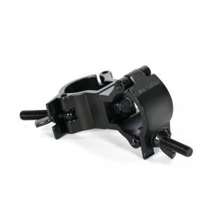 Duratruss Jr Swivel Clamp obejma -  hak aluminiowy - podwójna obejma na rurę fi 35mm, czarna