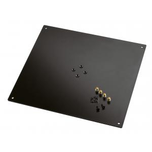 K&M 26792-042-56 płyta do montażu monitorów studyjnych na statywach, 420 x 5 x 380 mm, 6.352 kg
