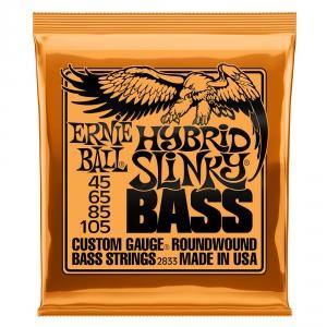 Ernie Ball 2833 NC Hybrid Slinky Bass struny do gitary  (...)