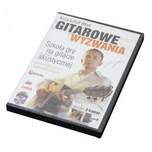 AN Błaś Krzysztof ″Gitarowe wyzwania″ DVDx2