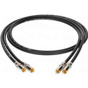 Klotz kabel 2xRCA / 2xRCA 0,3m