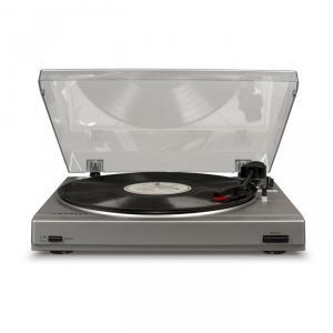 CROSLEY T200A-SI gramofon, srebrny