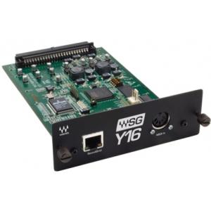 Waves WSG-Y16 karta do konsolety cyfrowej do obsługi 16 kanałów wtyczek programowych audio