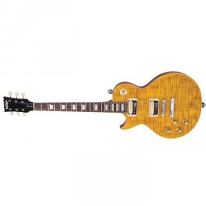 Vintage LV100AFD gitara elektryczna, flamed maple leworęczna
