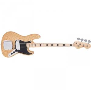 Vintage VJ74NAT gitara basowa, naturalna