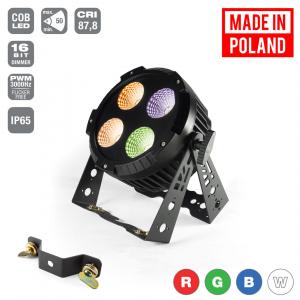 Flash Pro LED PAR 64 4X30W 4w1 COB IP65 RGBW MK2 -  (...)