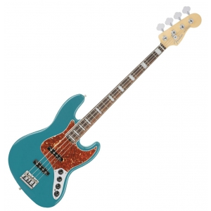 Fender American Elite Jazz Bass Ebony Fingerboard, Ocean  (...)