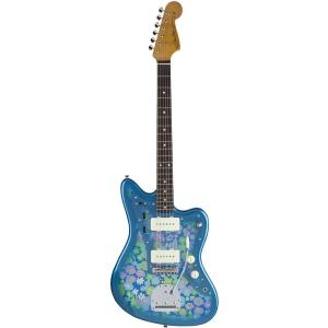Fender Japan Traditional 60s Jazzmaster BL FLWR gitara elektryczna - WYPRZEDAŻ