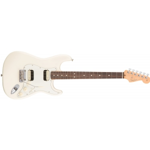 Fender American Pro Stratocaster HH Shaw Bucker Rosewood Fingerboard, Olympic White gitara elektryczna