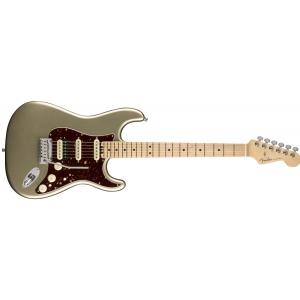 Fender American Elite Stratocaster HSS Shawbucker MN Champagne gitara elektryczna