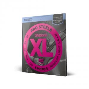 D′Addario EPS 170/5 Pro Steels struny do gitary basowej  (...)