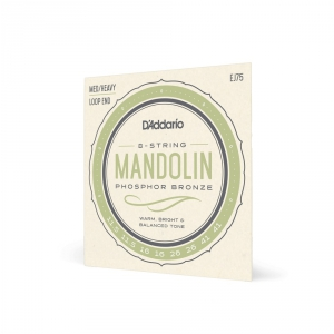 D′Addario J 75 struny do mandoliny