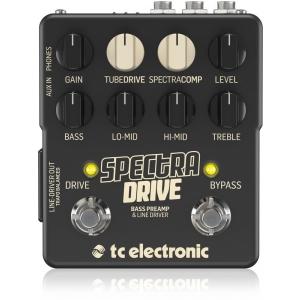 TC electronic SpectraDrive przedwzmacniacz do gitary basowej