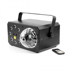 Flash LED Energy Fusion Set efekt świetlny 3 w 1 - laser, flower, doświetlacz/chase