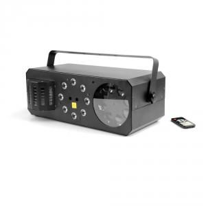 Flash LED Light Box Moon efekt świetlny 4 w 1 - laser,  (...)