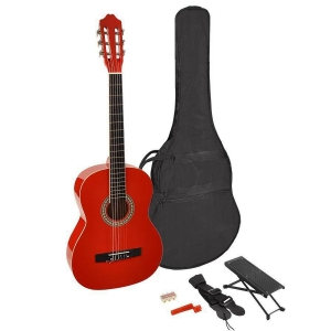 Martinez MTC 244 PR Red natural gitara klasyczna + pokrowiec