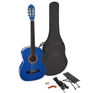 Martinez MTC 244 PU Blue natural gitara klasyczna +  (...)