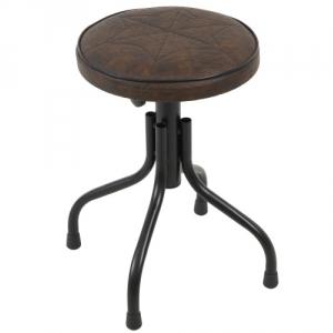 Stim ST11BR stołek mini, blokada wysokości (niski), obicie  (...)