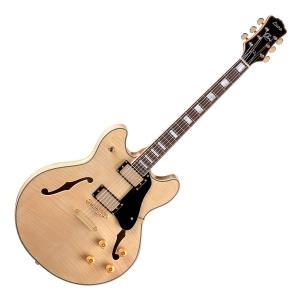 Luna Athena Semi Hollow Natural gitara elektryczna -  (...)