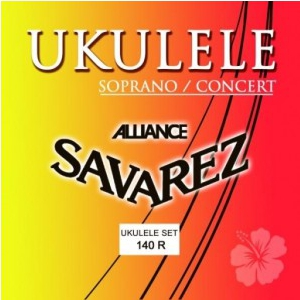 Savarez (660790) 140-R Alliance struny do ukulele  (...)