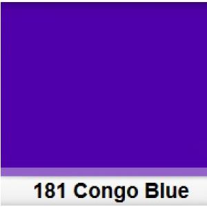 Lee 181 Congo Blue filtr barwny folia - arkusz 50 x 60 cm