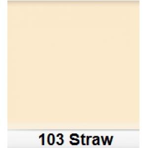 Lee 103 Straw filtr barwny folia - arkusz 50 x 60 cm