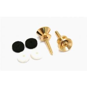 Fender Pure Vintage Strap Buttons, Gold (2)