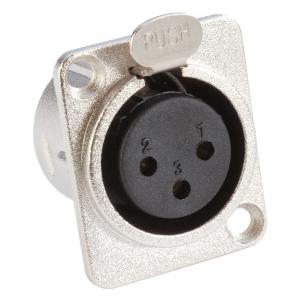 Adam Hall Connectors 7837 - Gniazdo XLR, żeńskie, typ D