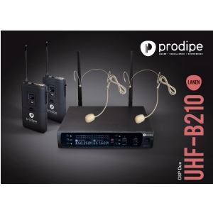 Prodipe Headset B210 Duo DSP UHF mikrofon bezprzewodowy  (...)