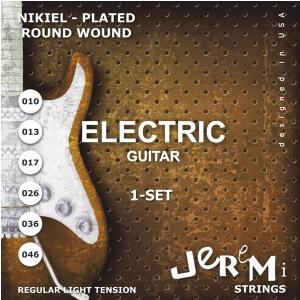 Jeremi EG1046 struny do gitary elektrycznej 10-46
