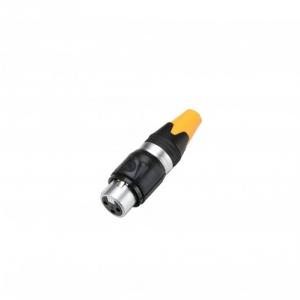 Adam Hall Connectors 7889 - Złącze wtyczkowe XLR do kabla, 3-stykowe XLR, żeńskie, IP65