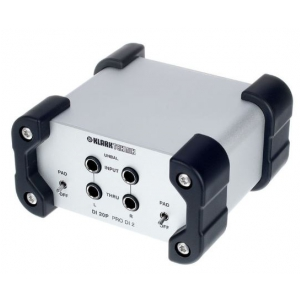Klark Teknik DI 20P DiBox pasywny 2-kanałowy