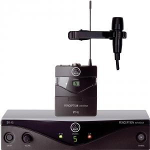AKG WMS45 Presenter Set mikrofon bezprzewodowy krawatowy (lavalier) CK-55L cz.U2