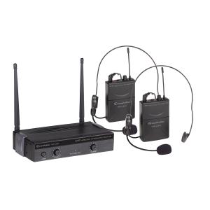 Soundsation WF-U24PP mikrofon bezprzewodowy podwójny  (...)