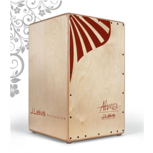 J.Leiva Percussion Cajon Model Alma Red  instrument  (...)