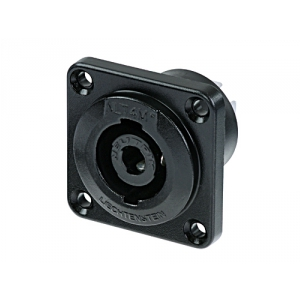 Neutrik NLT4MP-BAG gniazdo głośnikowe Speakon 4-pin, czarne