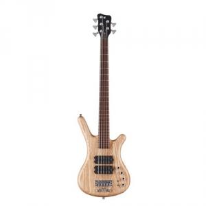 Warwick Teambuilt Pro Series Corvette $$, 5-String - Natural Transparent Satin gitara basowa