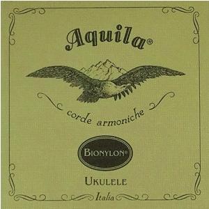 Aquila New Nylgut Ukulele Set, GCEA sopran high-G