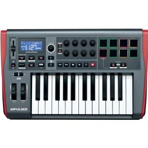 Novation Impulse 25 kontroler MIDI / USB