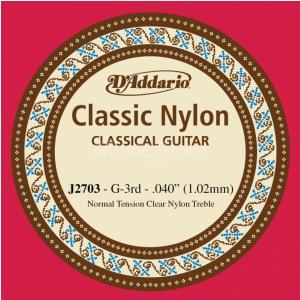 D′Addario J27 G 3 struna do gitary klasycznej