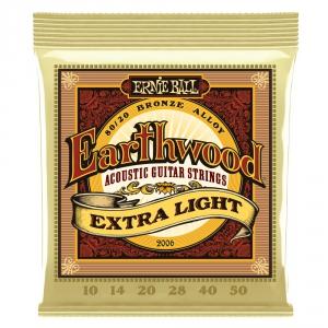 Ernie Ball 2006 Earthwood Extra Light struny do gitary  (...)