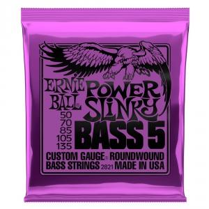 Ernie Ball 2821 NC 5′s Power Slinky Bass struny do gitary  (...)