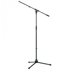K&M 210/6 black statyw mikrofonowy, czarny