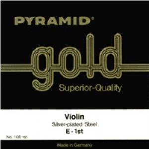 Pyramid 108100 Gold struny skrzypcowe 4/4