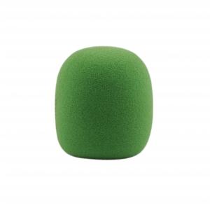 Monacor WS-5 gąbka mikrofonowa, zielona