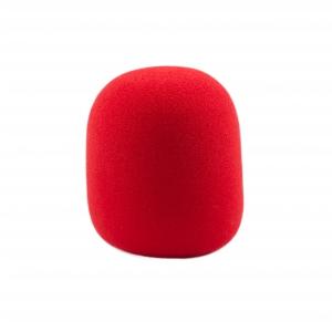 Monacor WS-5 gąbka mikrofonowa, czerwona